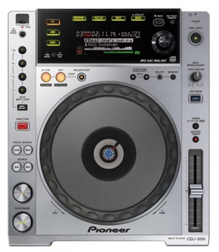 CDJ 850 Pioneer (Prata Semi- Novo) PAR