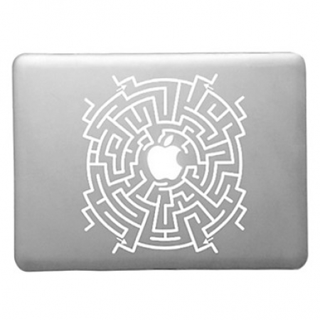 Capa Acrilica Para Macbook Pro 15.4 - Labirinto