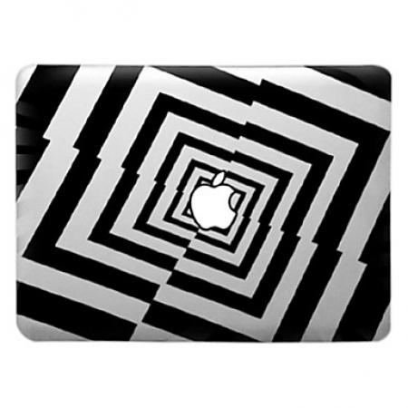 Capa Acrilica Para Macbook air 13 - Trabalho Artistica De Grids
