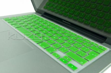 Capa de Teclado de Silicone (Cor Verde)