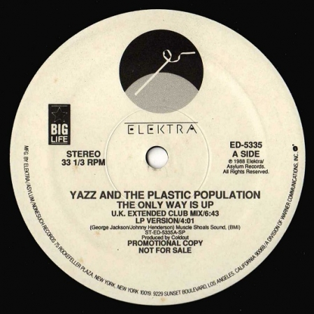 Yazz And The Plastic Population - The Only Way Is Up