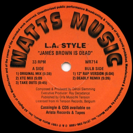 L.A. Style ?– James Brown Is Dead