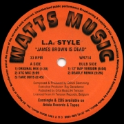 L.A. Style ‎– James Brown Is Dead