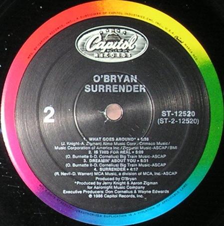 O'Bryan - Surrender