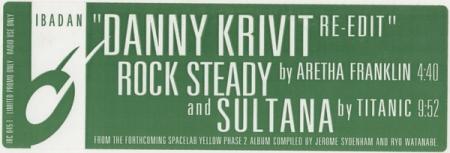 Aretha Franklin / Titanic – Space Lab Yellow Phase 2 Sampler