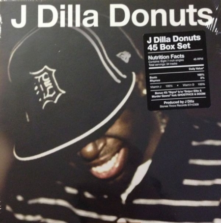 J Dilla - Donuts (45 Box Set) 8 Compact Disc