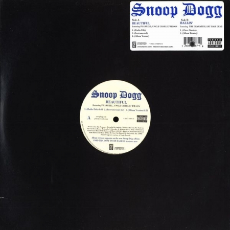 Snoop Dogg ‎– Beautiful / Ballin'
