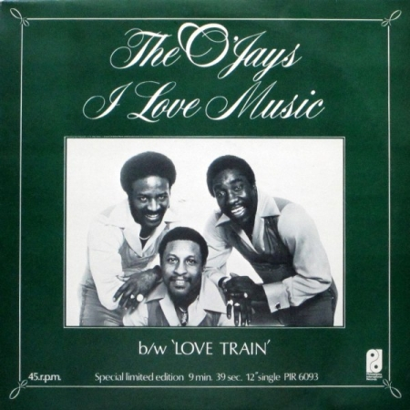 The O'Jays - I Love Music / Love Train