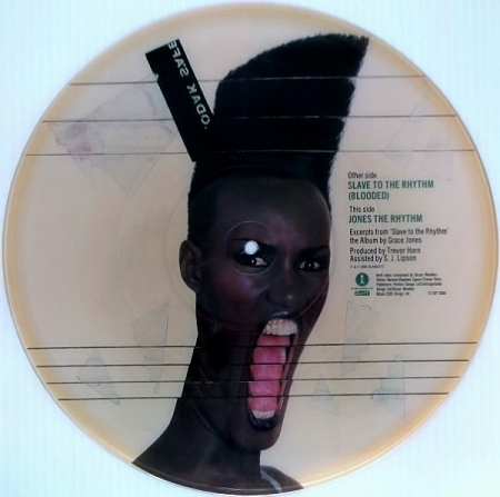 Grace Jones - Slave To The Rhythm (Picture)
