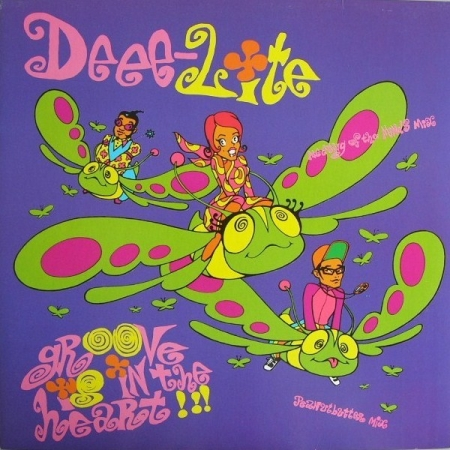 Deee-Lite ‎– Groove Is In The Heart / What Is Love?