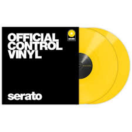 Timecode Serato Control Vinil Performance Amarelo (O PAR)