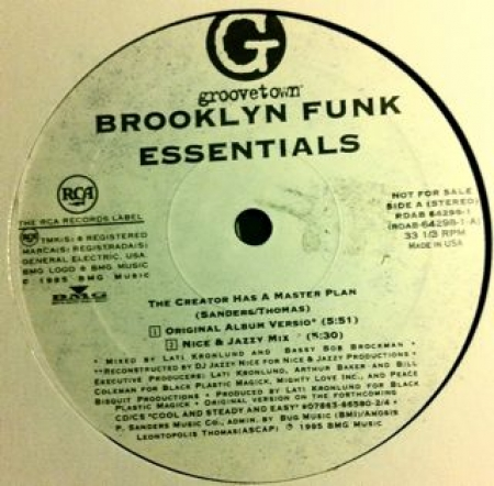 Brooklyn Funk Essentials ‎– The Creator Has A Master Plan