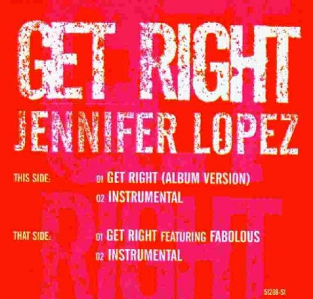 Jennifer Lopez ‎– Get Right
