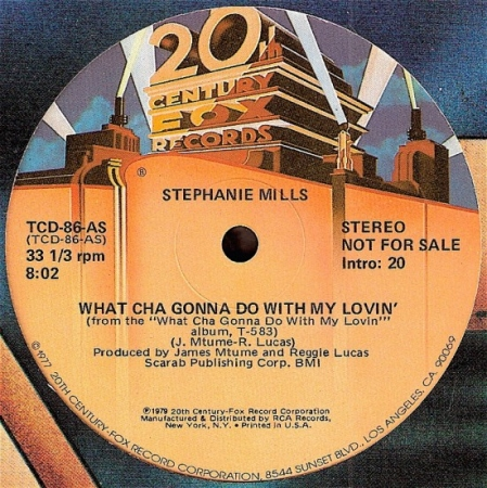 Stephanie Mills - What Cha Gonna Do With My Lovin' / Put Your Body In It