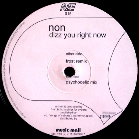 Non ‎– Dizz You Right Now