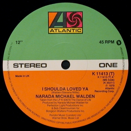 Narada Michael Walden ‎– I Shoulda Loved Ya