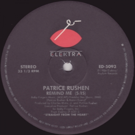 Patrice Rushen - Number One / Remind Me