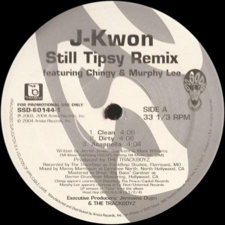J-Kwon - Still Tipsy (Remix) / Hood Hop
