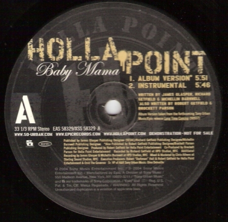 Holla Point ‎– Baby Mama