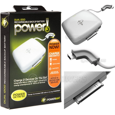 Power Dual 1200 Carregador de Iphone 3G/ 3GS/ 4/ 4S