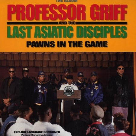 Professor Griff And The Last Asiatic Disciples ‎– Pawns In The Game