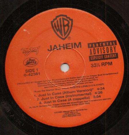 Jaheim - Just In Case