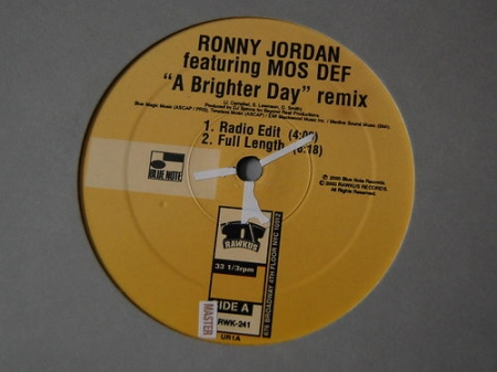 Ronny Jordan Featuring Mos Def ‎– A Brighter Day Remix