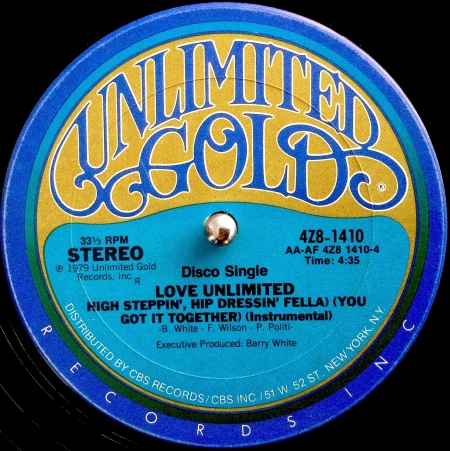 Love Unlimited ?– High Steppin', Hip Dressin' Fella (You Got It Together)
