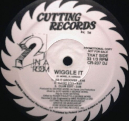 2 In A Room ‎– Wiggle It  Promo Mixes