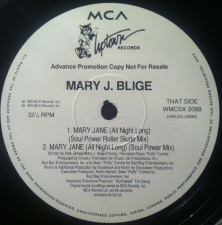 Mary J. Blige - Mary Jane (All Night Long)