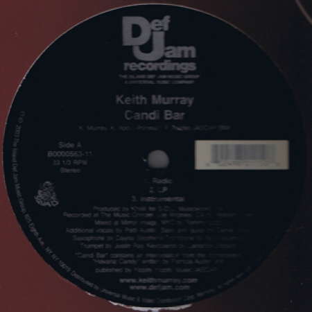 Keith Murray - Candi Bar / Carnage