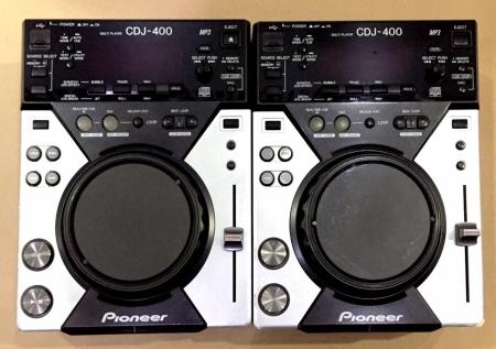 CDJ Pioneer 400 Produto Semi Novo (O Par)