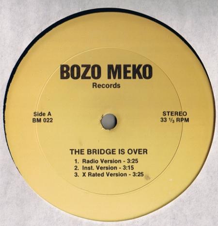 Bozo Meko - The Bridge Is Over
