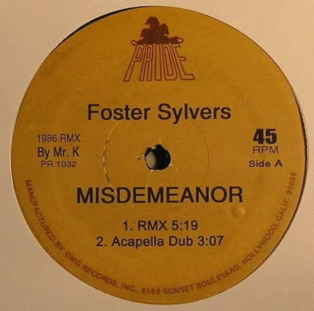 Foster Sylvers - Misdemeanor