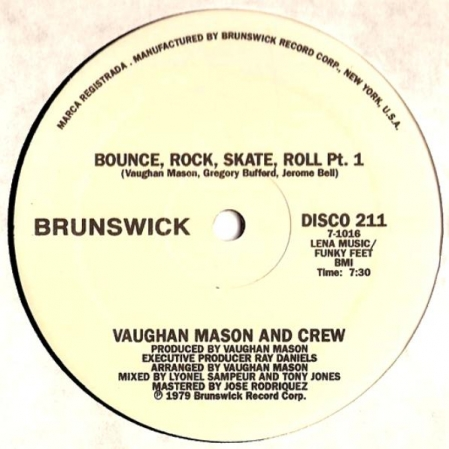 Vaughan Mason And Crew – Bounce, Rock, Skate, Roll