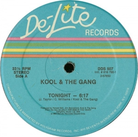 Kool & The Gang - Tonight / Celebration
