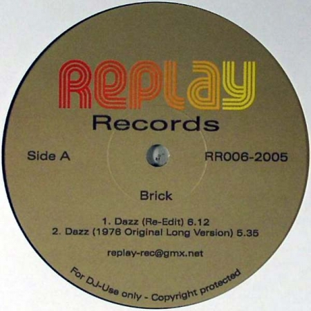 Brick / Tom Browne ‎– Dazz / Funkin' For Jamaica