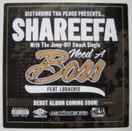 Shareefa Featuring Ludacris - Need A Boss