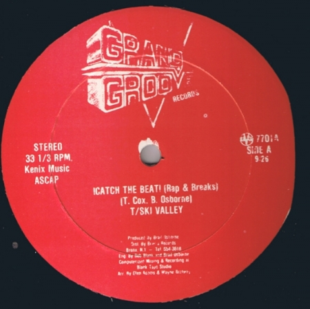 T/Ski Valley / Grand Groove Bunch – !Catch The Beat! / !Catch The Groove!