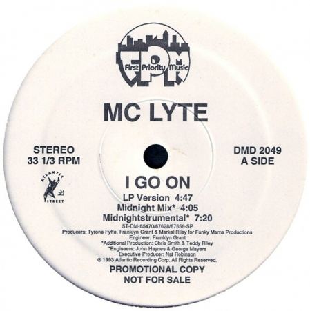 MC Lyte - I Go On