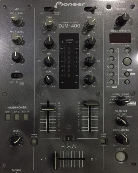 Mixer DJM 400 Pioneer SEMI NOVO