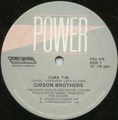 Gibson Brothers - Cuba / Que Sera Mi Vida (If You Should Go)