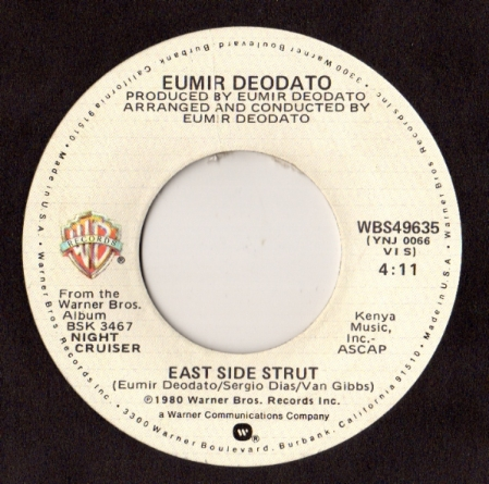 Eumir Deodato ‎– East Side Strut
