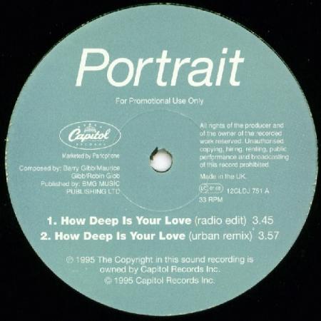 Portrait - Lovin' U Is Ah-Ight / How Deep Is Your Love