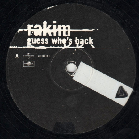 Rakim ‎– Guess Who's Back