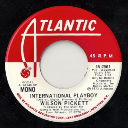 Wilson Pickett – International Playboy