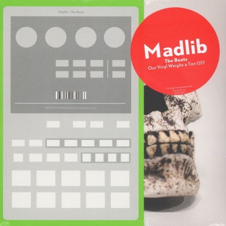 Madlib ‎– The Beats - Our Vinyl Weighs A Ton Original Soundtrack