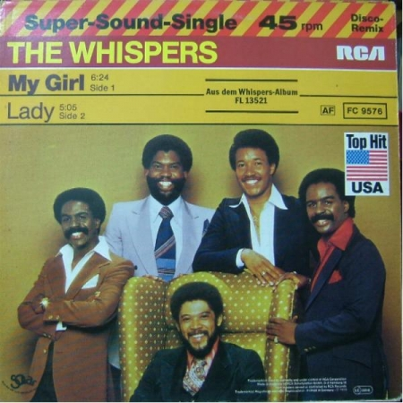 The Whispers‎– My Girl / Lady
