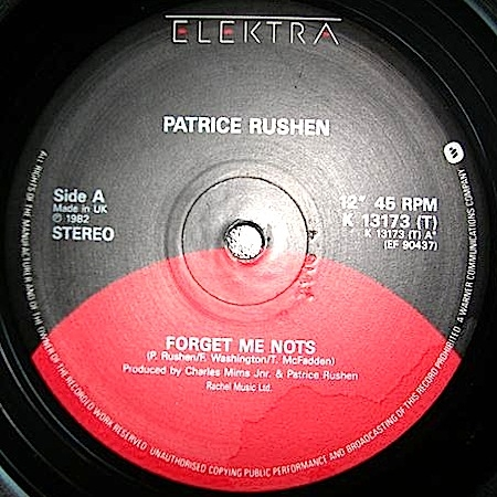 Patrice Rushen ‎– Forget Me Nots