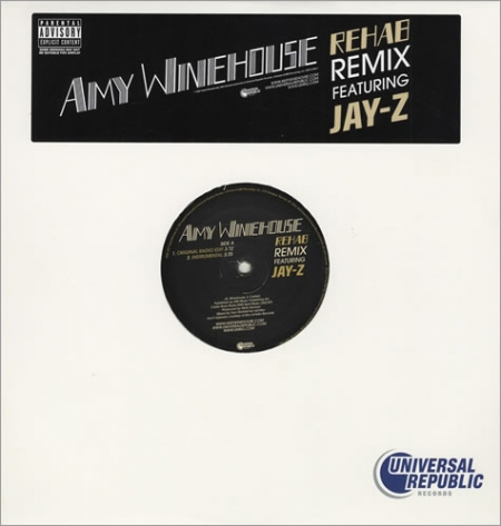 Amy Winehouse Featuring Jay-Z ‎– Rehab Remix